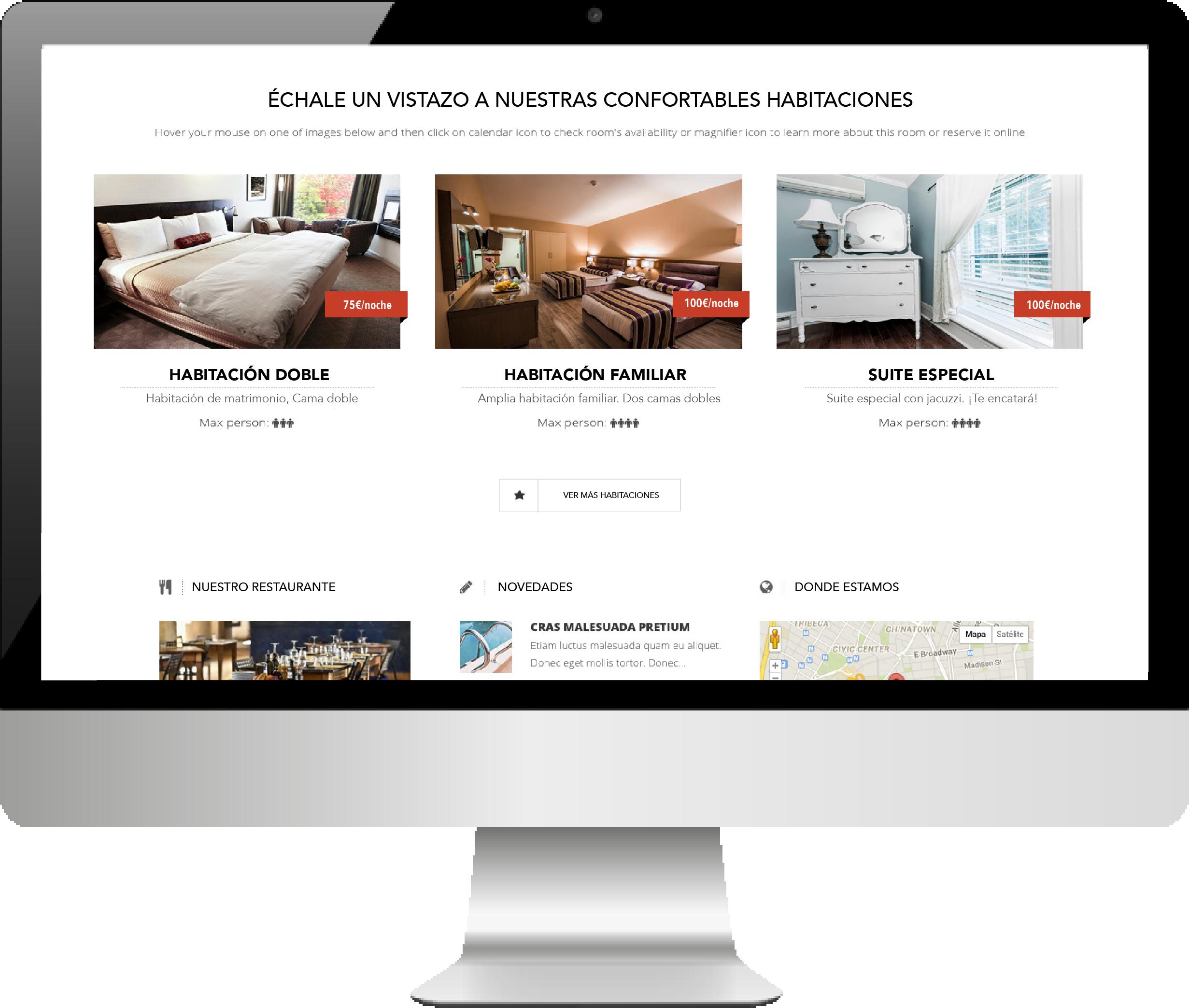 Demo web hoteles - CONNECTUS - Marketing online, publicidad digital ...